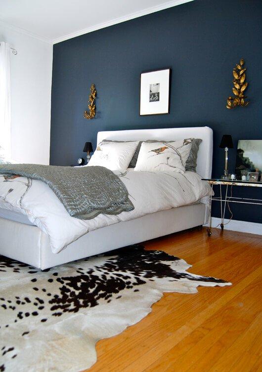 Behangpapier accentmuur slaapkamer meer dan idee n over accent muur kleuren op pinterest airco - Muur kamer kind ...