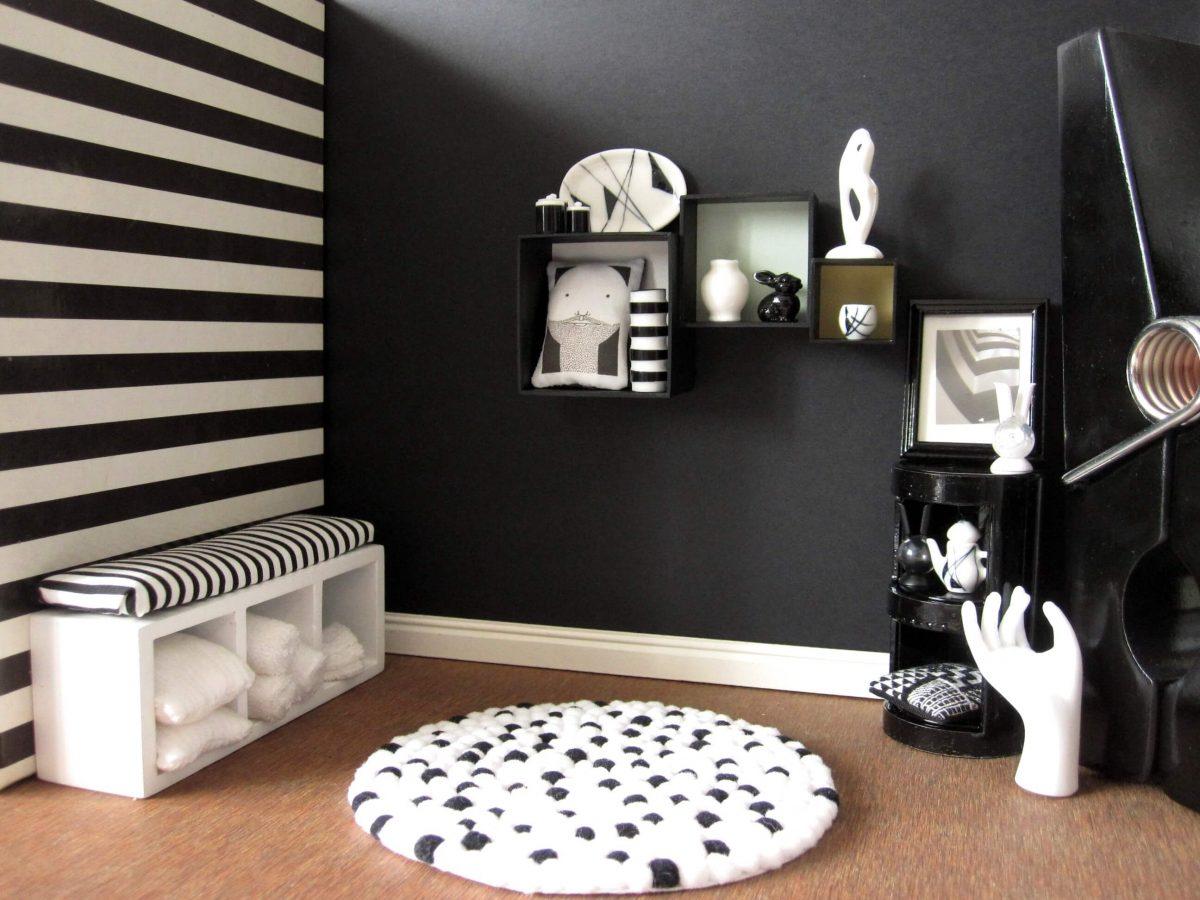 Slaapkamer Rood Met Zwart : Zwart wit interieur gezellig maken? - Tips ...
