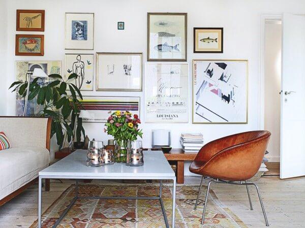 Decoratie aan de muur diy tips inspiratie wiki wonen - Decoratie woonkamer aan de muur ...