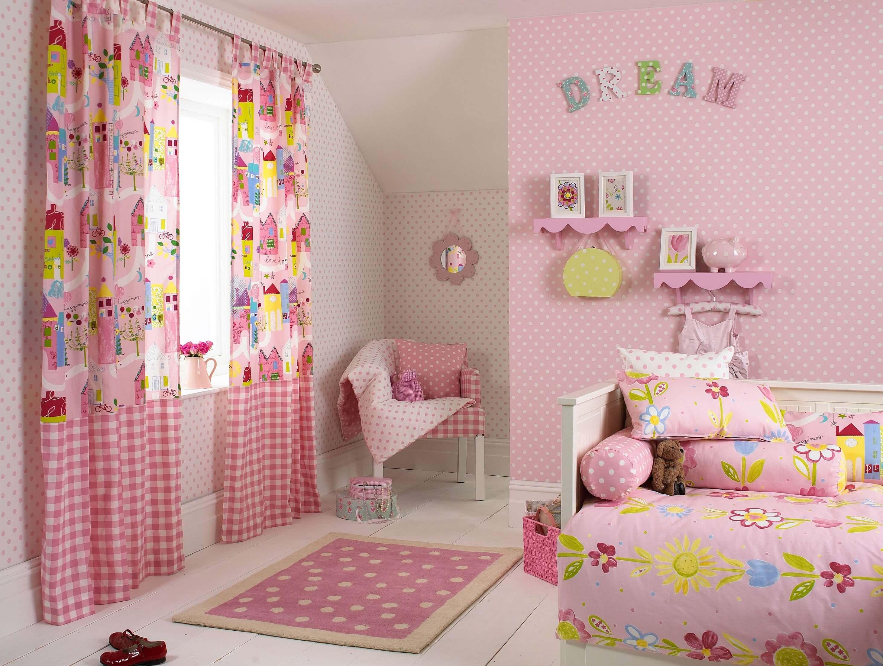 Ideeen Voor Slaapkamer Kleur : Mooie Meisjes slaapkamer inrichten ...