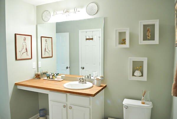 Badkamertegels Verven : Badkamer in slaapkamer ervaring ineen