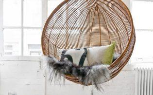 Een hangstoel voor in elk interieur