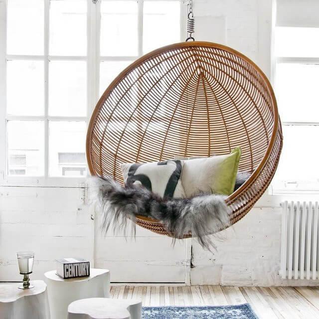 Design Hangstoel Binnen.Een Hangstoel Voor In Elk Interieur Tips Inspiratie Wiki Wonen