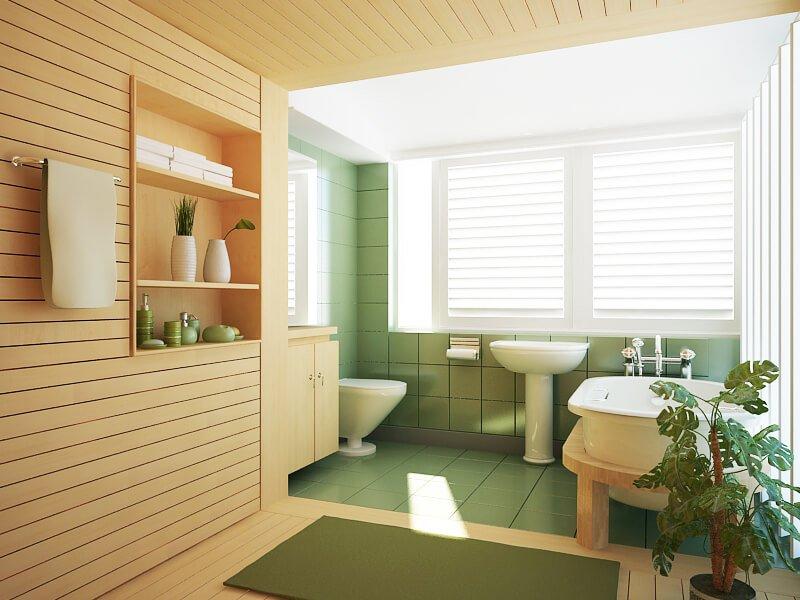 Grote Frisse Badkamer : Kleuren kiezen voor de badkamer tips inspiratie wiki wonen