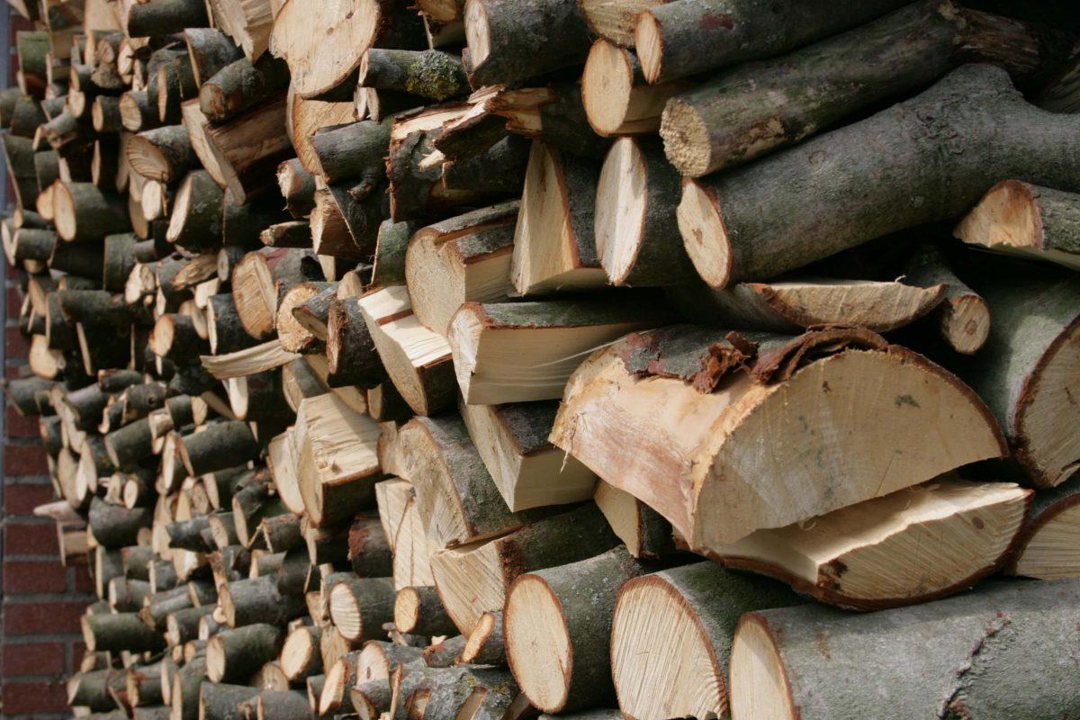 Stapel hout