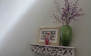 Houten wanddecoraties voor de woonkamer