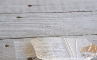 Oude meubels whitewashen met kalkwas