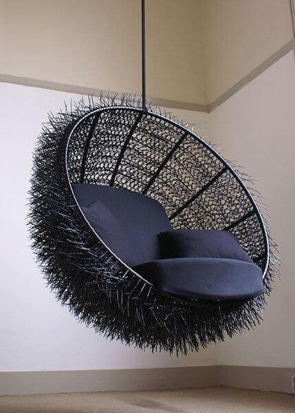 Hoe Maak Je Een Hangstoel.Een Hangstoel Voor In Elk Interieur Tips Inspiratie Wiki Wonen