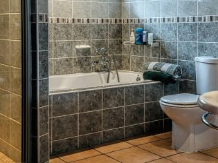 Muurtegels verven - Badkamer