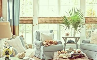 Een strand interieur in beach style