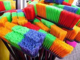 Milieuvriendelijk schoonmaken - vegen