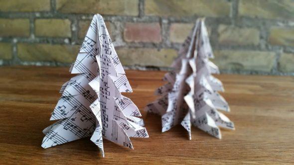 Een alternatieve kerstboom maken