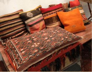Bohemian interieur accessoires - Kelim
