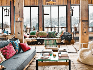 Bohemian interieur - meubels