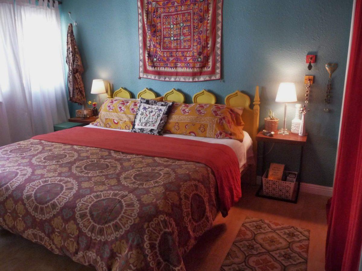 Kleurrijke bohemian slaapkamer tips inspiratie wiki wonen