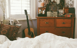 Kleurrijke bohemian slaapkamer