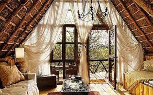 Romantisch wonen in een romantische woonkamer