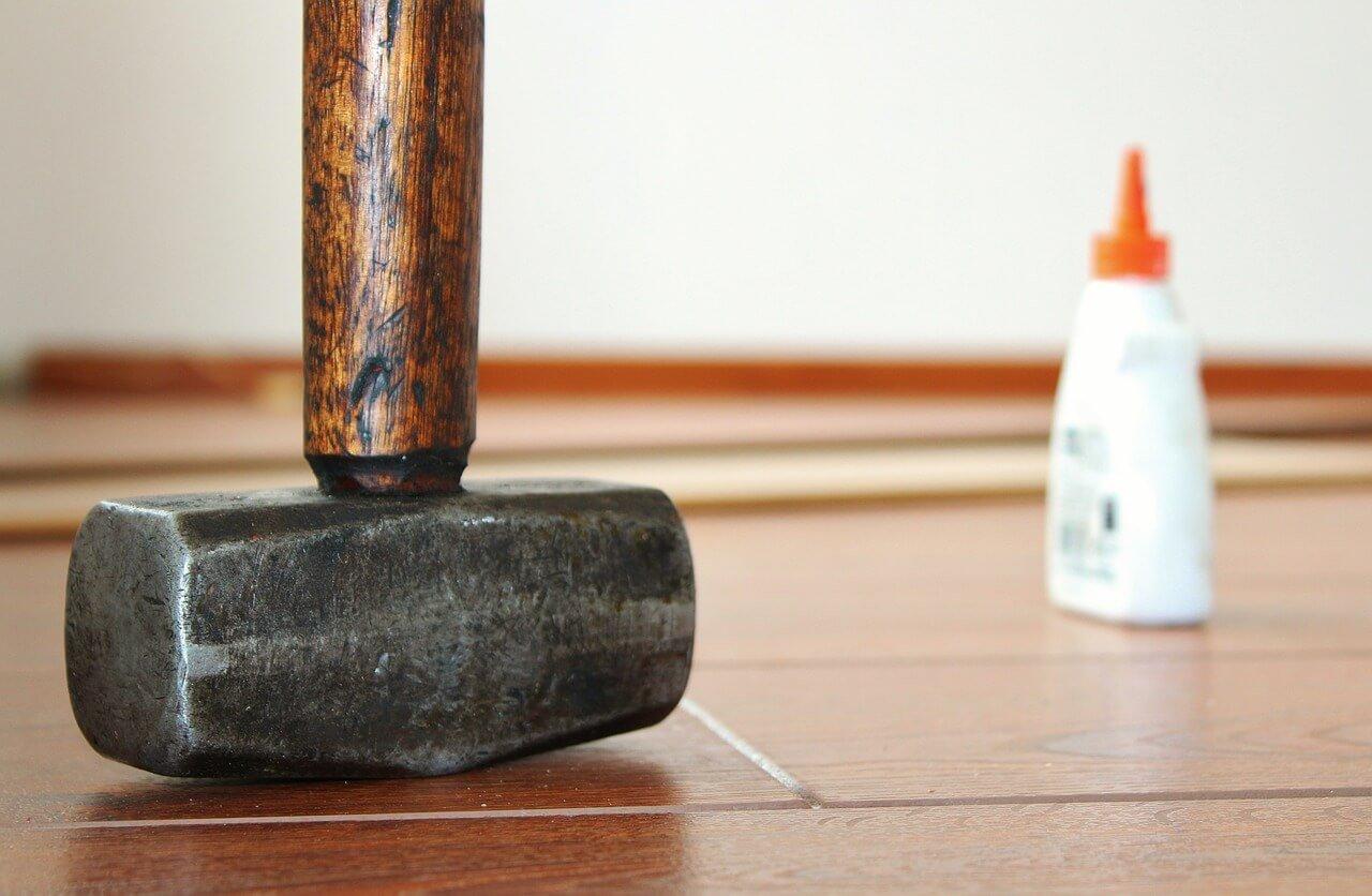 Onderhoud van een laminaatvloer