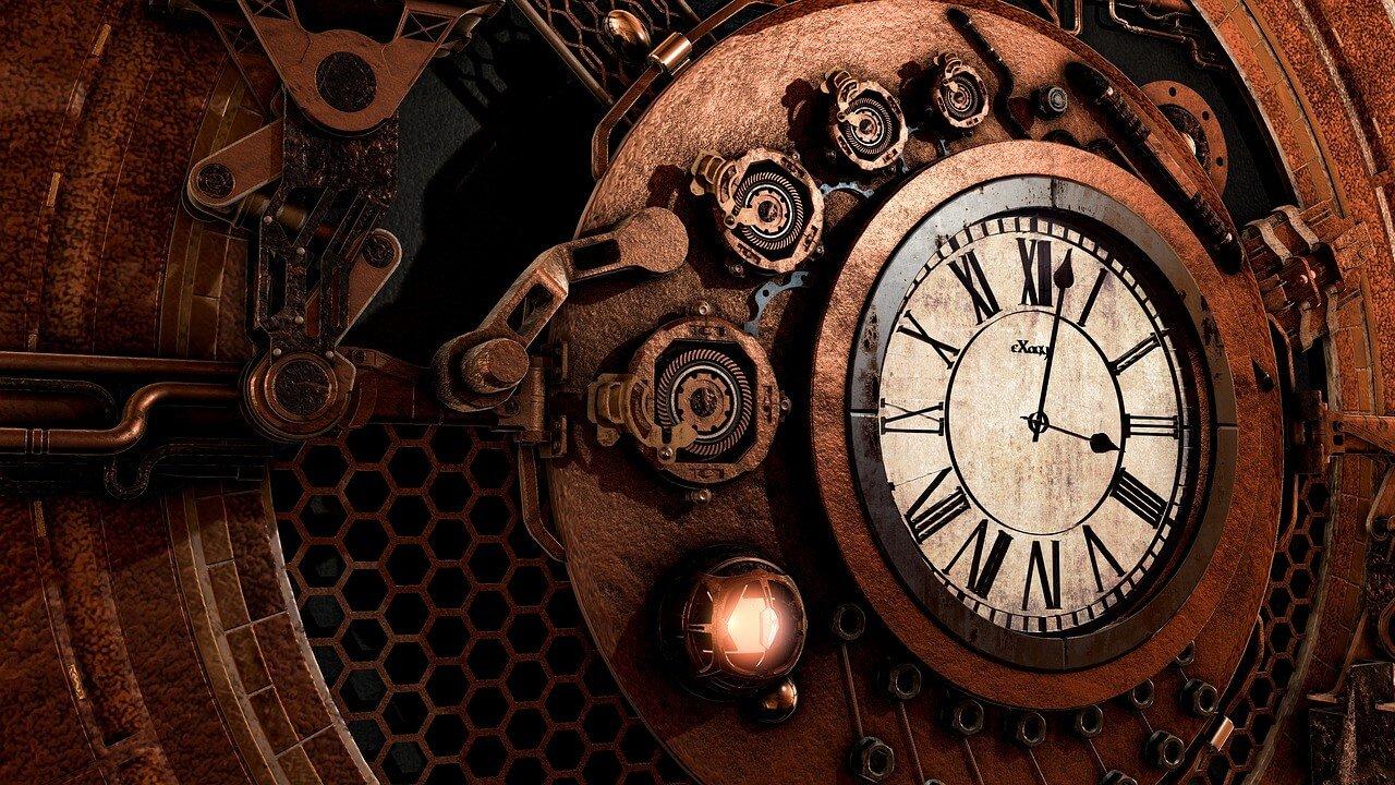 Schitterende klassieke klok